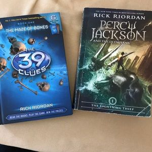 Other - The 39 Clues, Percy Jackson and the Olympians